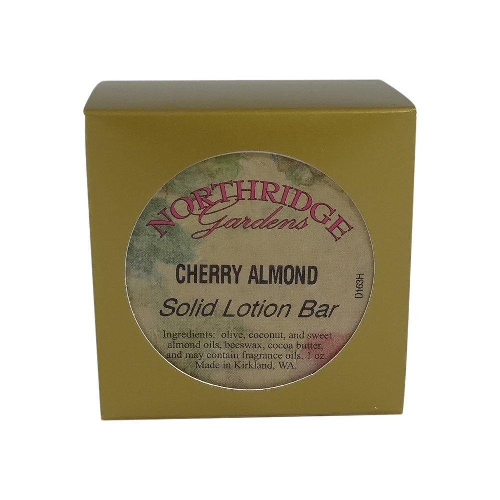 Amazon.com : Northridge Gardens Cherry Almond Solid Lotion Bar 1oz ...