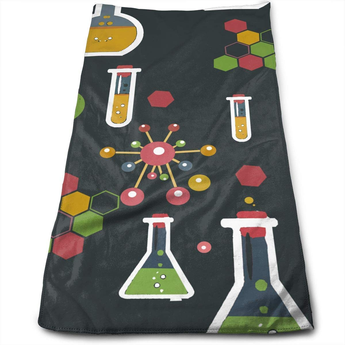 OQUYCZ Funny Chemistry Science Athletic Tube Multi-Purpose Microfiber Towel Ultra Compact Super Absorbent and Fast Drying Sports Towel Travel Towel Beach Towel Perfect for Camping, Gym, Swimming.