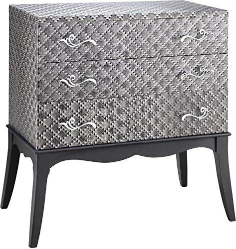 Stein World Furniture Claudette Accent Chest, Silver ()
