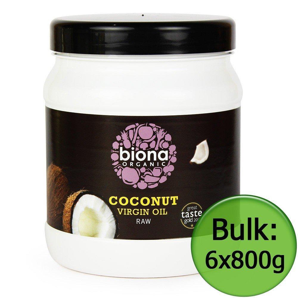 Organic Raw Virgin Coconut Oil - 800g