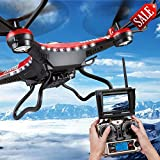 RC Quadcopter HD Camera with Monitor + 2PC Motor