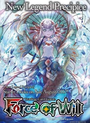 Force of Will - Water Below The Waves Starter Deck - New Legend Precipice - 51 cards