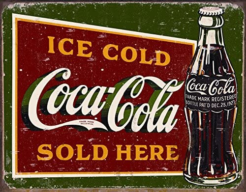 ICE COLD COCA COLA SOLD HERE Advertising Mirror