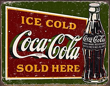 Ice Cold Coca Cola Sold Here Soda Coke LED Light Sign US seller