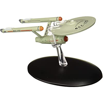 Eaglemoss Star Trek The Official Starships Collection USS Enterprise NCC-1701 Ship Replica: Toys & Games