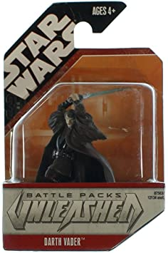 Mitros Toys Figura de acción de Star Wars Unleashed Battle Pack ...