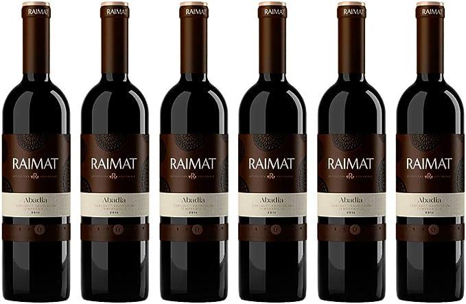 Raimat   Vino Tinto Raimat Abadia 2017  D.O. Costers del Segre   Caja de 6 botellas de 75 cl: Amazon.es: Alimentación y bebidas