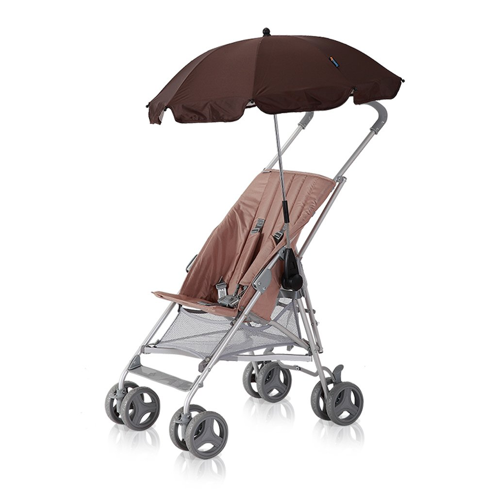 ベビー傘スーパー軽量ベビーカーベビーキャラバン夏軽量折りたたみカート、グレー/カーキ、65 * 45 * 98cm ( Color : Khaki (Umbrella) ) B07BXFNCH6