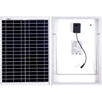 Betop-camp 20W Solar Panel with 5m Cable and Alligator Clips for a Motorhome, Caravan, Campervan, Boat or Any Other 12V System