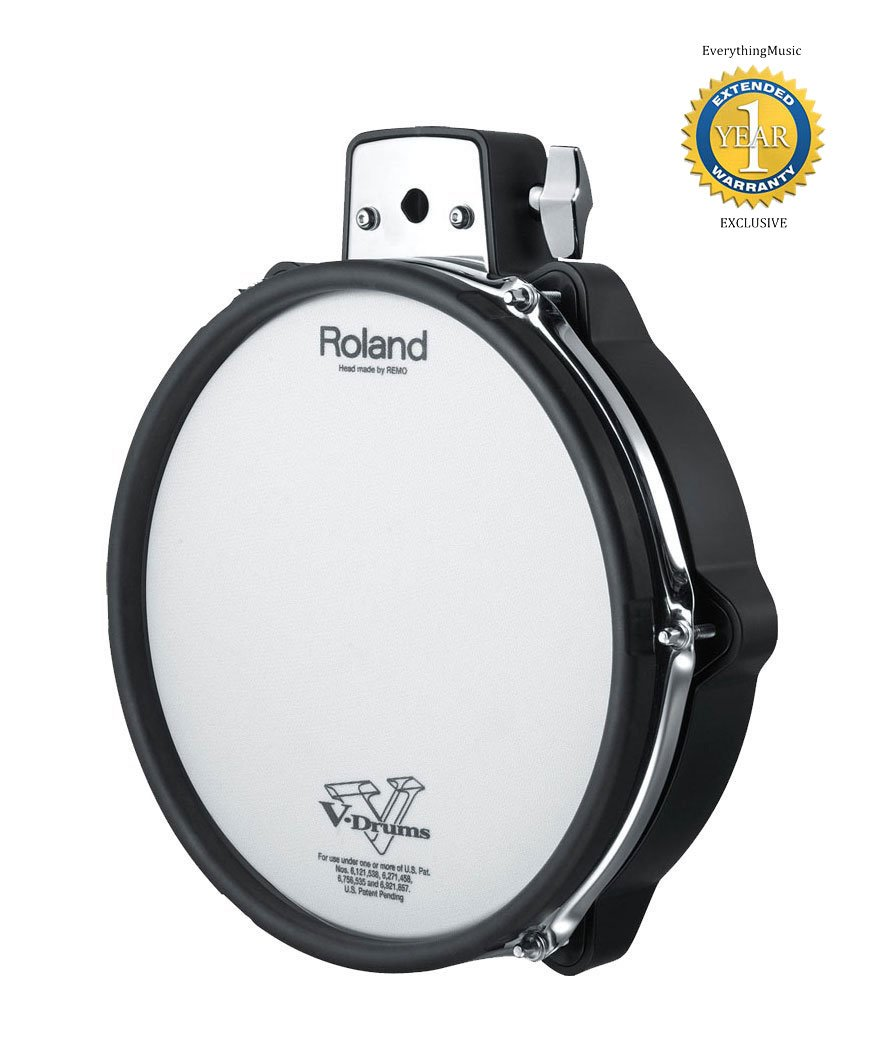 Roland PDX-100 V-Pad 10'' Mesh-head Drum Pad with 1 Year Free Extended Warranty