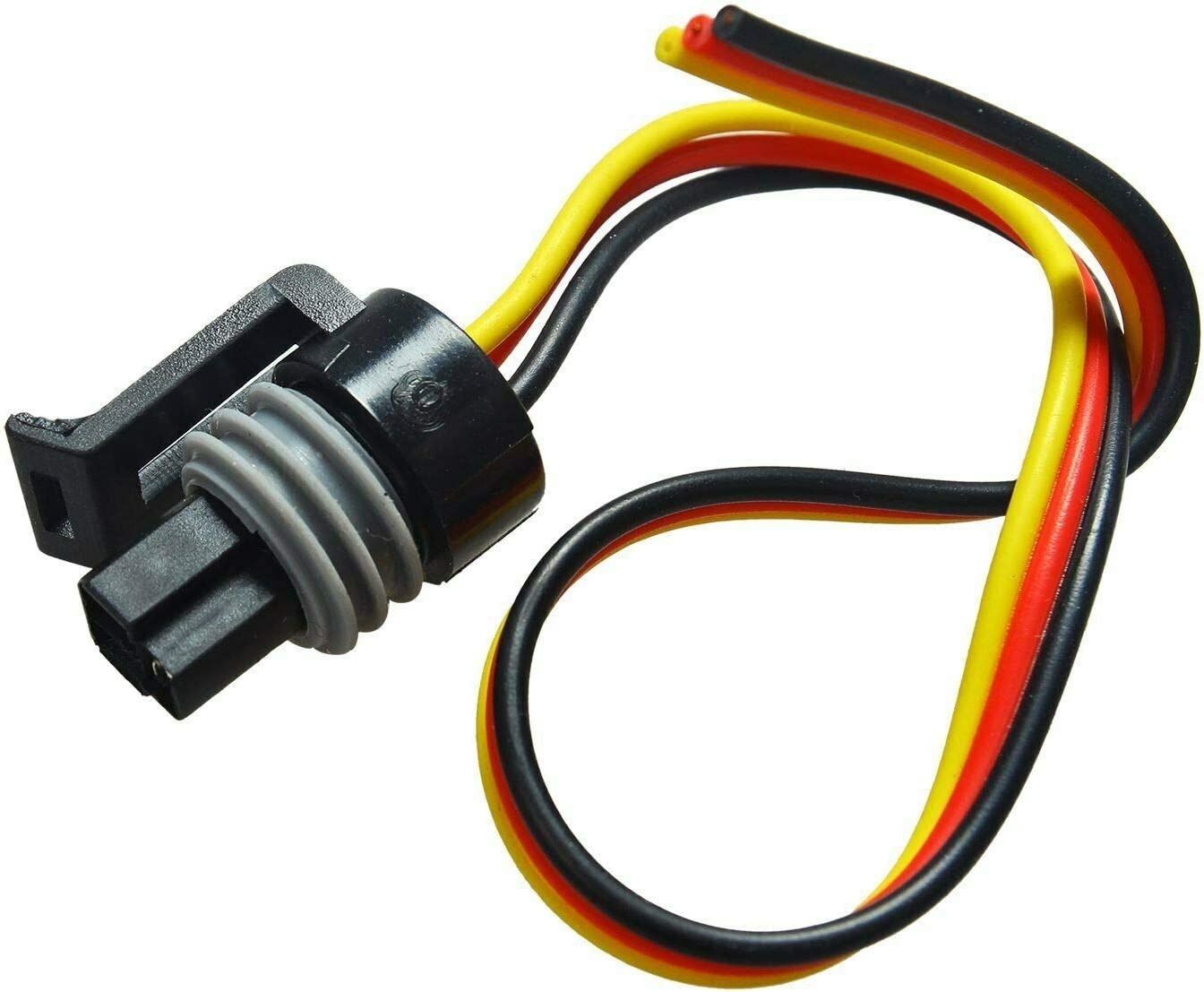 5C3Z-12224-A Sensor New Compatible with Ford Serie E F Ecolnine V8 7.3L SUPERFASTRACING Pigtail Connectors of IPR /& ICP