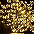 GDEALER Solar String Lights 72ft 200 LED Solar White Solar Powered Waterproof Starry Fairy Outdoor String Lights Christmas Decoration Lights for Garden Path, Party, Bedroom Decoration (1)