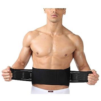 DACHUI Unterer Rücken Bandage Unterstützung der Lendenwirbelsäule ...