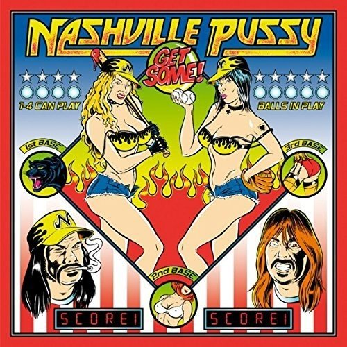 Nashville Pussy - Get Some (With CD, United Kingdom - Import, 2PC)