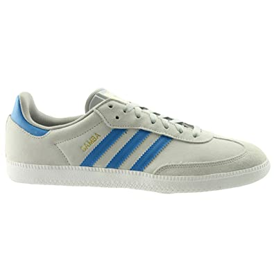 Adidas Shoes Grey And Blue