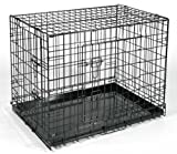 Qpets 30 by 21 by 24-Inch Dog Cage, Large For Sale