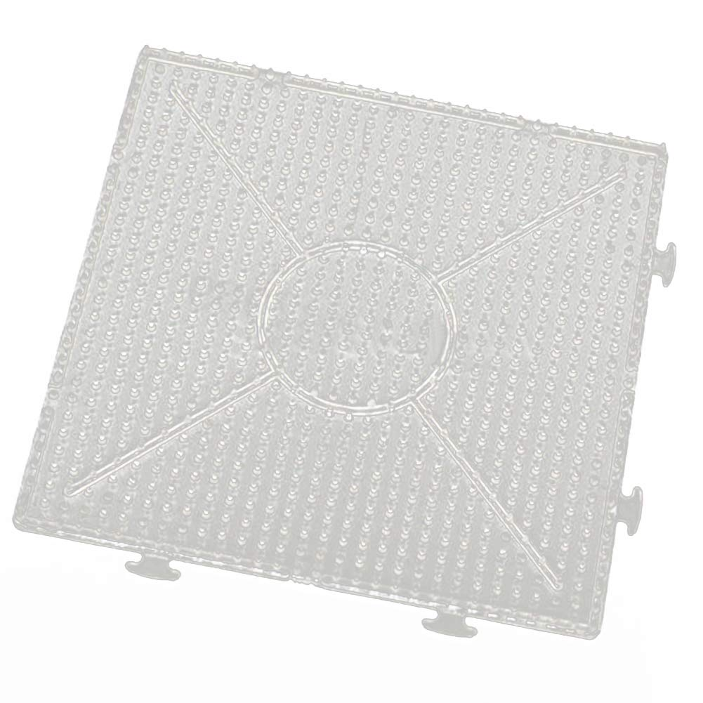 BrawljRORty DIY Toys, Large Square Hexagon Round Large Pegboards Board for Fuse Beads Kids Toy