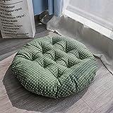 XMZDDZ Tatami mats Seat cushion,Indoor Outdoor deep seat chair cushion Garden office Car Round Chair pad-D 40x40cm(16x16inch)