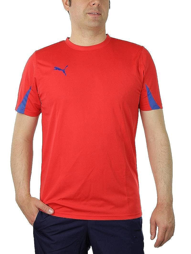 Puma KC Team Ticino Tee Kids T-Shirt Red Soccer