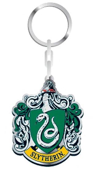 Llavero metálico Harry Potter Slytherin Crest 5 cm. Half ...