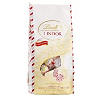 Deals on Lindt Holiday Peppermint White Chocolate Truffles 19Oz