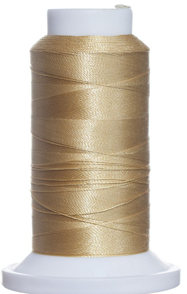1M-2751 BFC Poly Machine Embroidery Thread Pale Gold 40 Wt 1000m