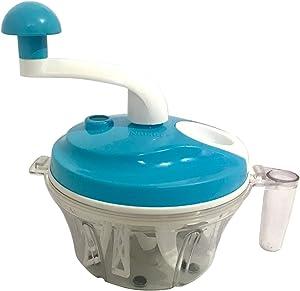 Hand Crank Food Processor Hand-powered Crank Large Chopper Blender Mixer Cutter for Vegetables, Fruits, Salad with a Egg Separator. Manual Food Chopper