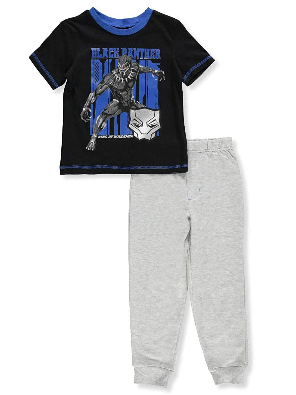 Black Panther Boys' 2-Piece Pants Set Outfit