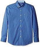 IZOD Men's Advantage Performance Non Iron Stretch Long Sleeve Shirt, Powder Blue, 2X-Large
