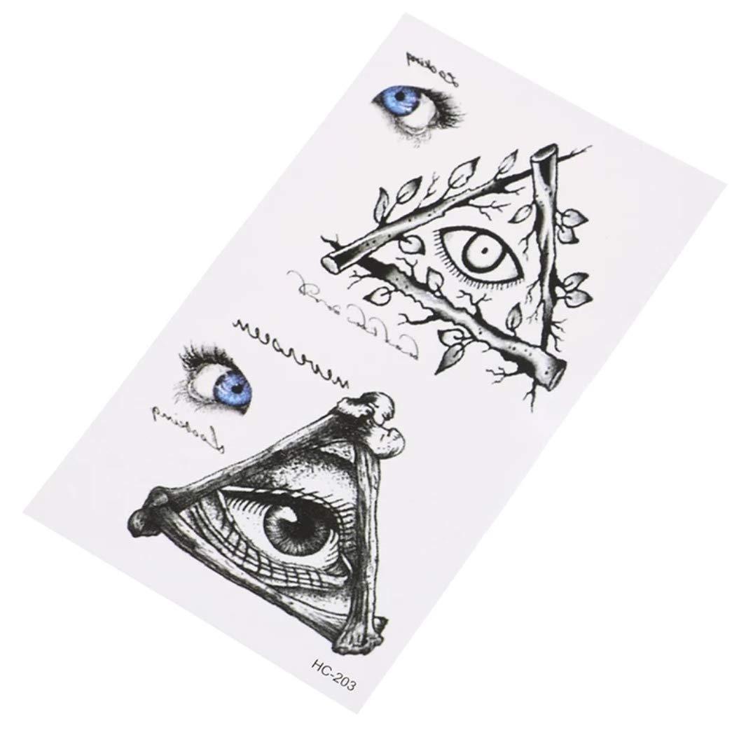 Tatuaje temporal, 10,5 x 6 cm: Amazon.es: Belleza