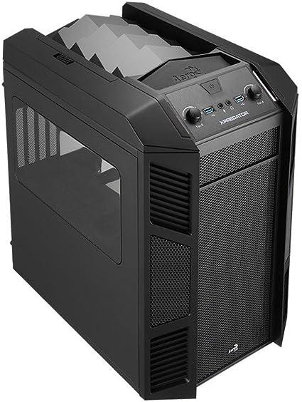 Aerocool Xpredator Cube - Caja de Ordenador (Cubo, PC, 1x 200 mm, 1x 140 mm, Micro-ATX, Mini-ITX, Juego): Amazon.es: Informática
