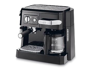 DeLonghi BCO 410.1 - Cafetera combinada espresso y goteo, 2.6 l, color negro: Amazon.es: Hogar