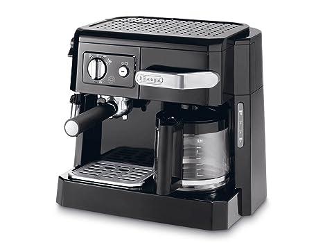 DeLonghi BCO 410.1 - Cafetera combinada espresso y goteo, 2.6 l, color negro