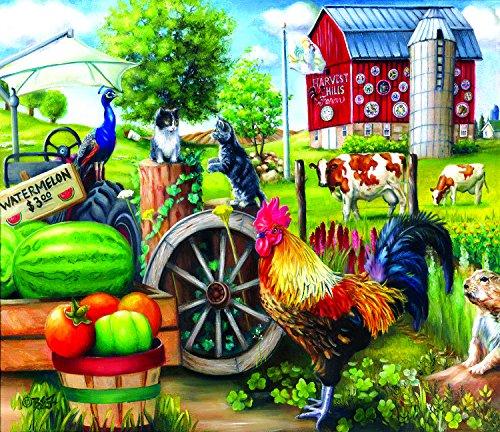 Harvest Hills 200 Piece Jigsaw Puzzle by SunsOut