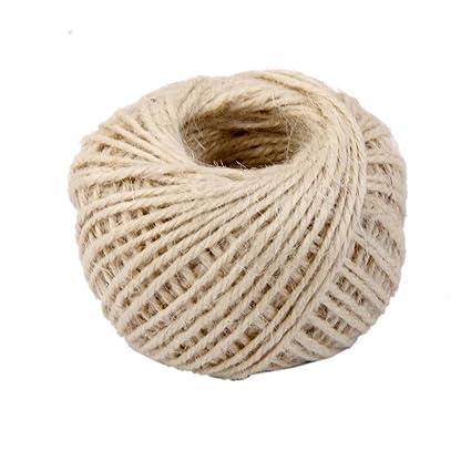 jooks Cable de cuerda de camo cuerda de cinta yute bola para