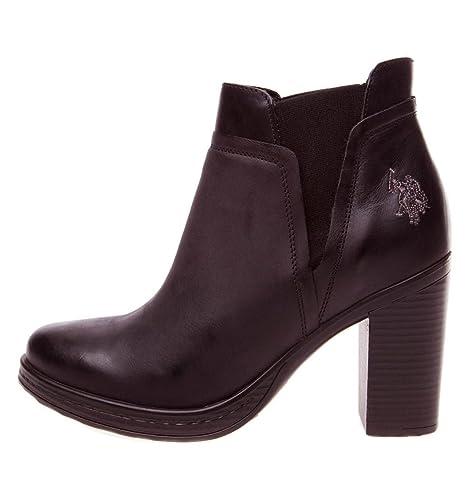 Botines U.S Polo Assn Ortensia - Color - Marron, Talla - 38: Amazon.es: Zapatos y complementos