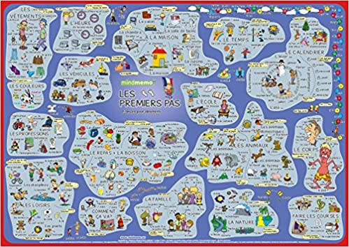 mindmemo lernposter les premiers pas franzsisch fr einsteiger vokabeln lernen mit bildern zusammenfassung 9783954130122 amazoncom books - Zusammenfassung Franz Sisch