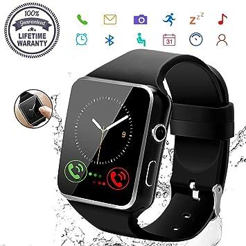2019 Smart Watch,Bluetooth Smartwatch Touch Screen Wrist Watch ...