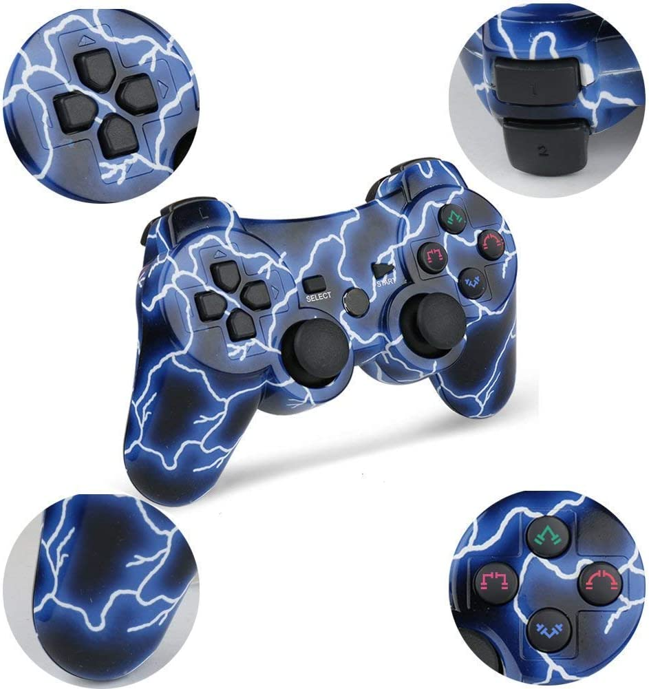 Mando PS3 Inalámbrico para PS3 Controller Bluetooth para ...
