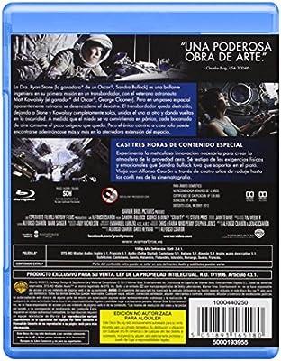 Gravity [Blu-ray]: Amazon.es: Sandra Bullock, George Clooney, Ed ...
