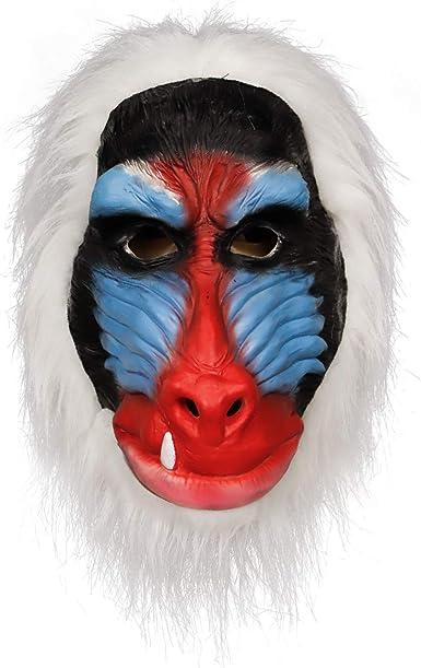 Máscara de Rafiki Hecha a Mano con Dibujos Animados de The ...