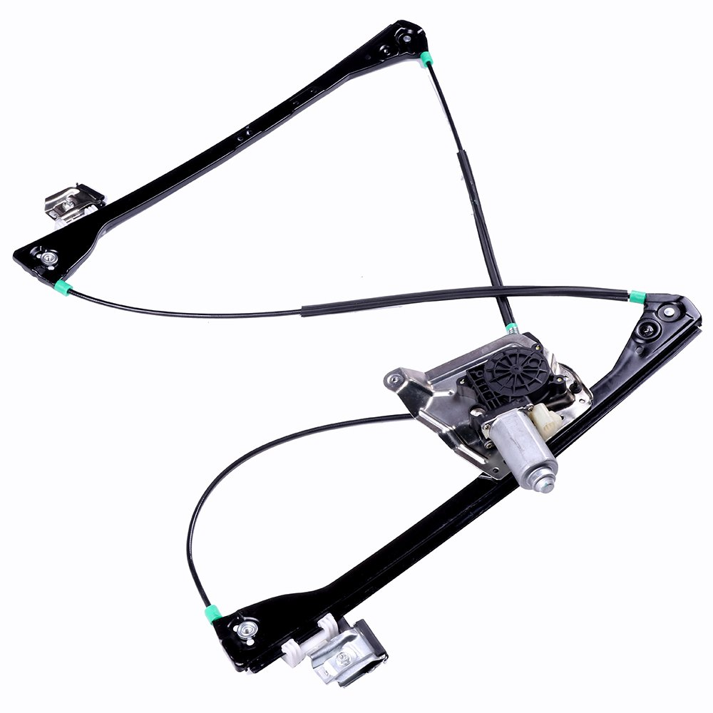 SCITOO Power Window Lift Regulator High Performance Automotive Replacement Parts 2002-2007 Buick Rendezvous 2001-2005 Pontiac Aztek Front Left Driver Side Motor 106113-5206-1123041