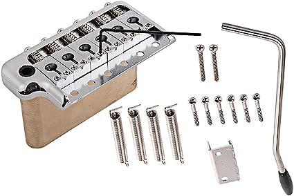 Healifty Single Locking Tremolo System Silver Guitar Parts ...