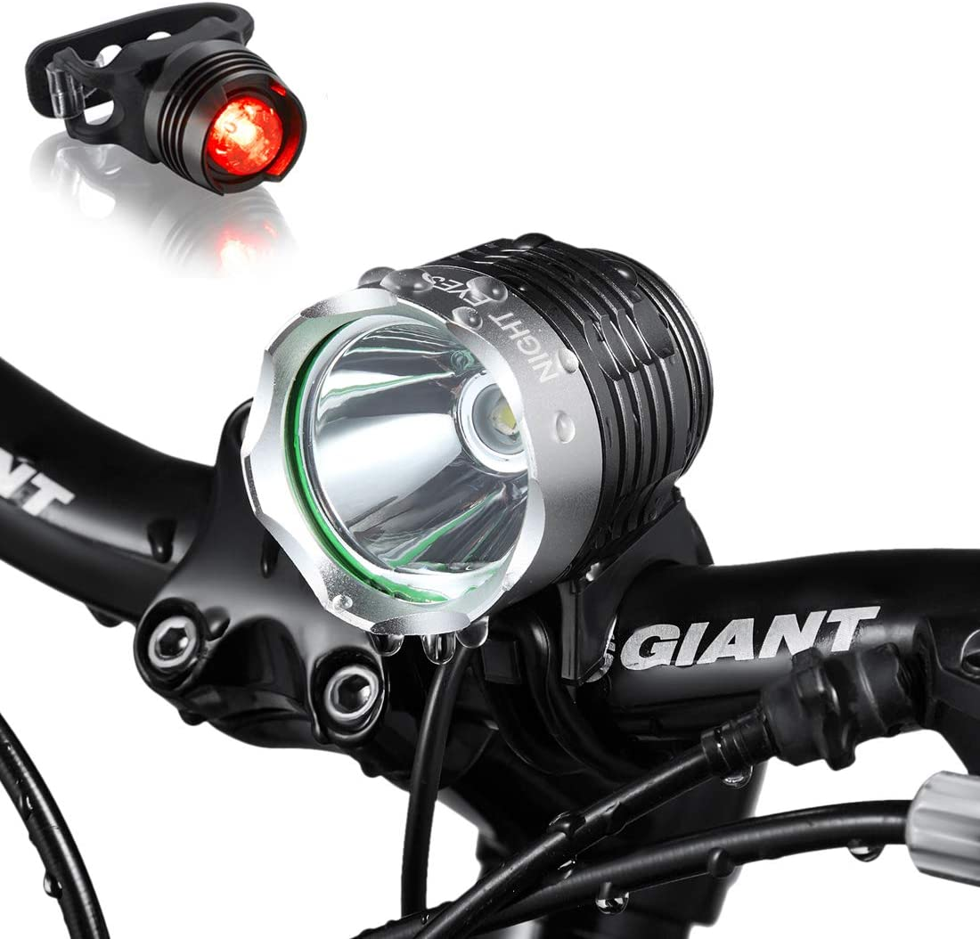1 PC Night Riding Bike Headlights High Brightness Headlight Equipment