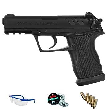 PACK pistola Gamo C-15 Blowback - arma de aire comprimido y balines <3
