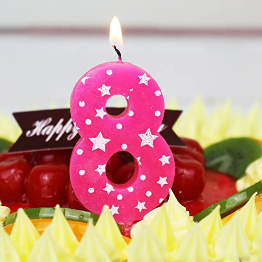 Números de la torta de cumpleaños decoración Niños Niñas ...