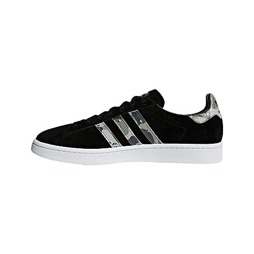 19aad0b1c071f4 adidas Originals Campus Men s Trainers Suede Leather Shoes - B37821 - Black  (10 ...