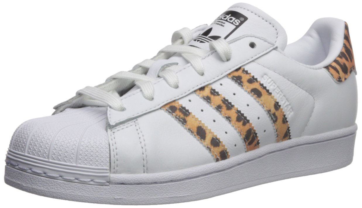 adidas Originals Women's Superstar W Sneaker, FTWR White, Supplier Colour, Core Black, 7 M US by adidas Originals