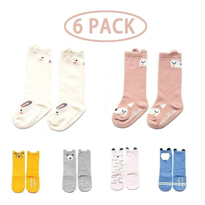Calcetines antideslizantes para bebés - Calcetines con agarre a la ...