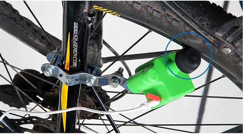 ZJEGO Dynamo Bicicleta USB Generador Kit Cargador, Portátil e ...